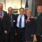 Senator Franken with group 042116